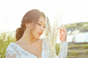 新娘低馬尾